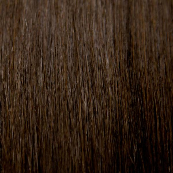 "18"" 100% Human Hair 7pcs Clip-In  Color 2"
