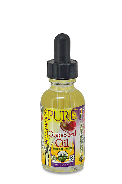 Hollywood Pure Organic Oils Grapeseed Oil