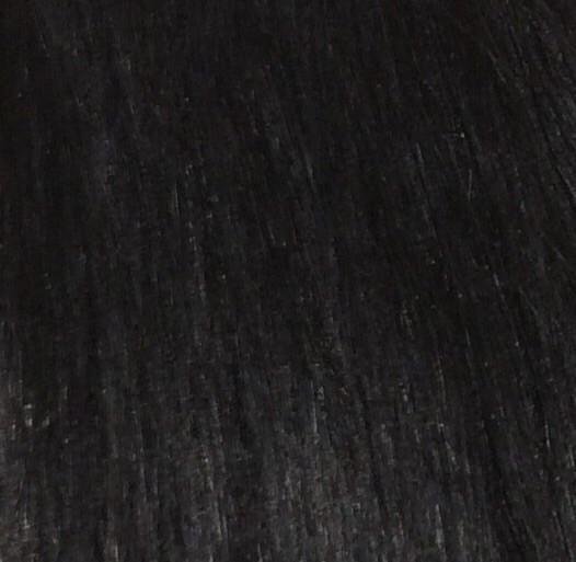 "16"" 100% Human Hair 7pc Clip On Extensions Color 1B"