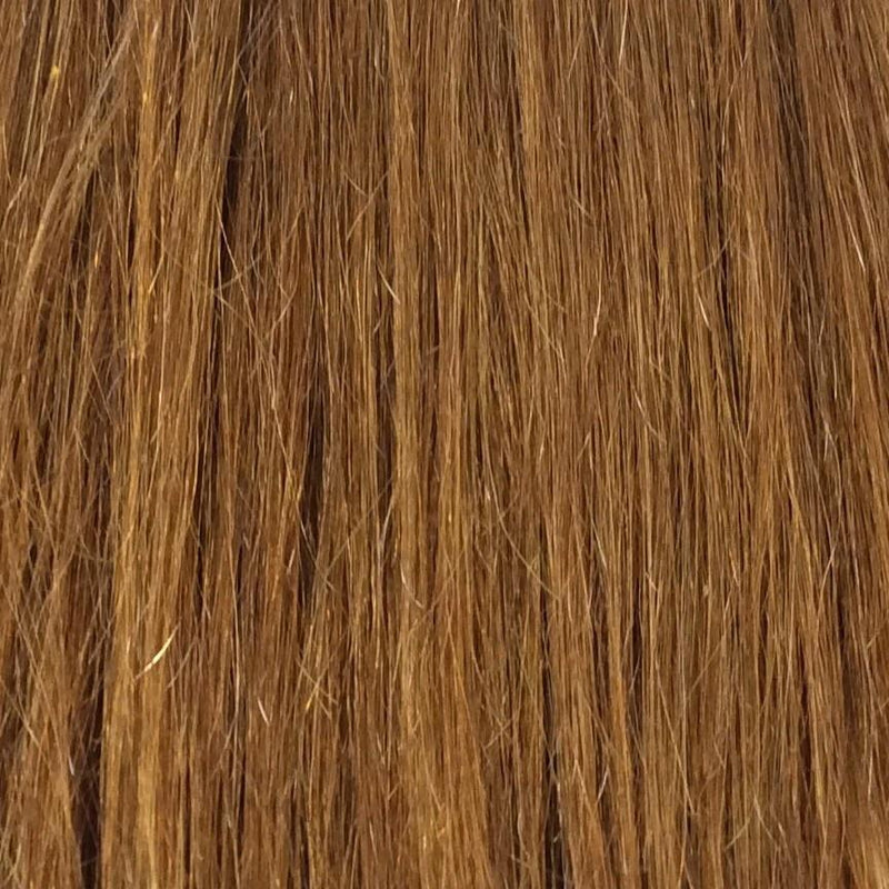 "16"" 100% Human Hair Extension color 30"