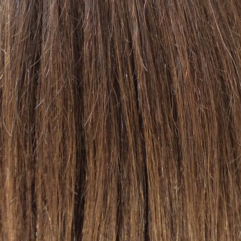 "18"" 100% Human Hair Extension color 4"