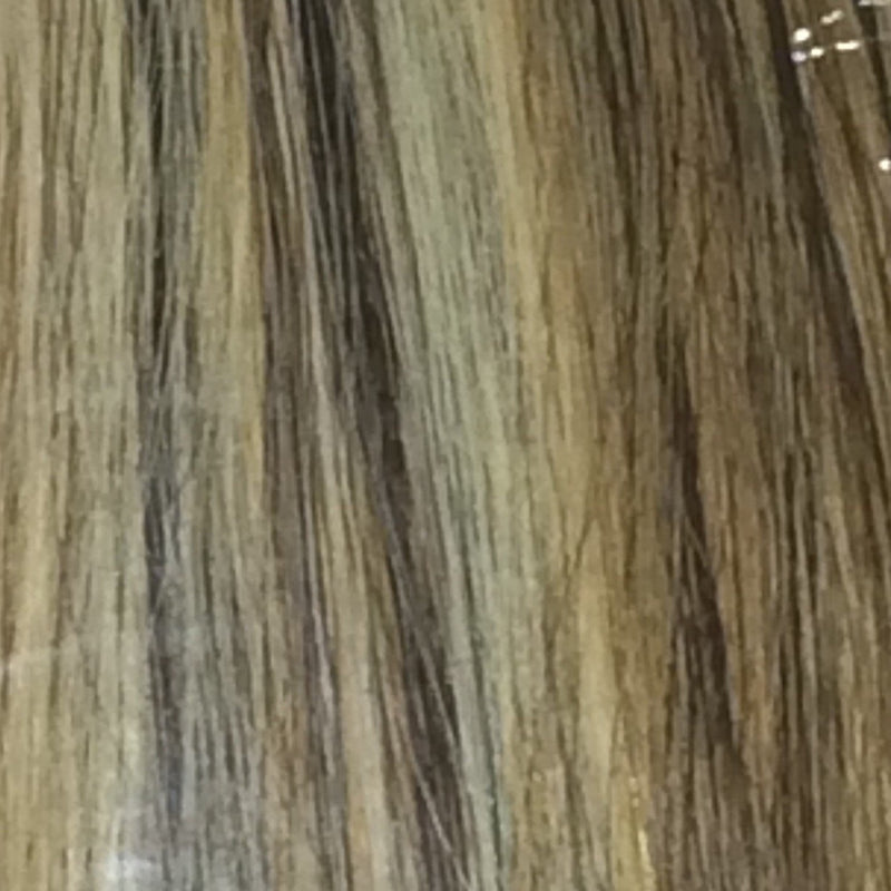 "18"" 100% Human Hair Extension color P4/27/613"
