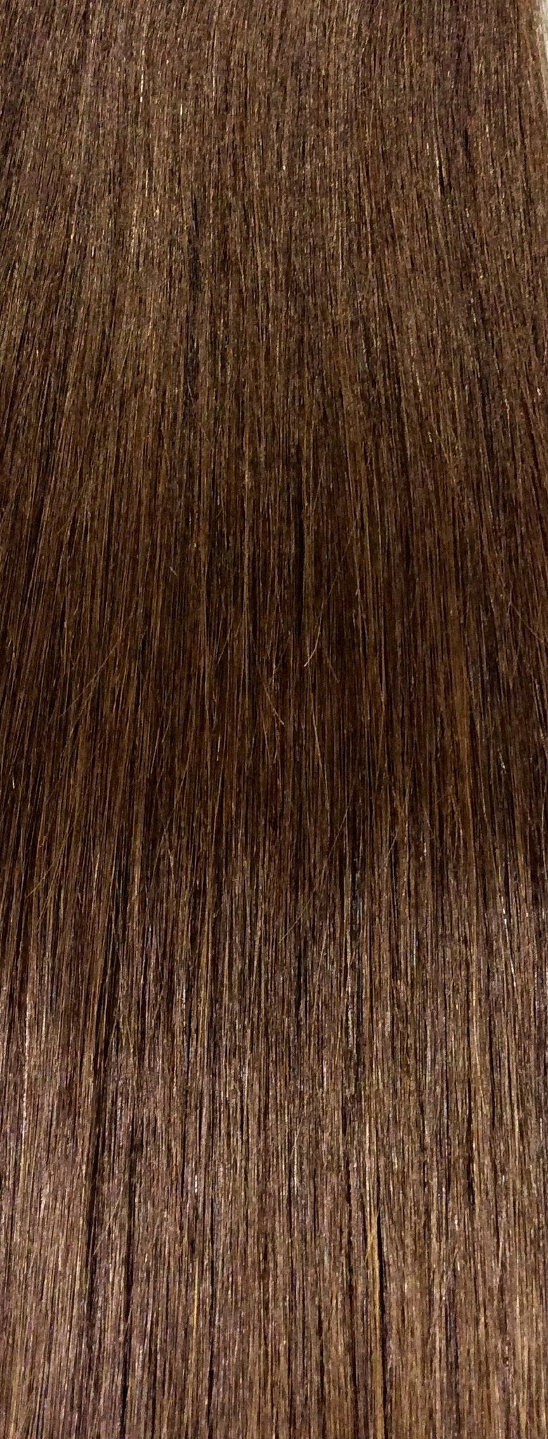 "18"" 100% Human Hair 7pcs Clip-In  Color 4"