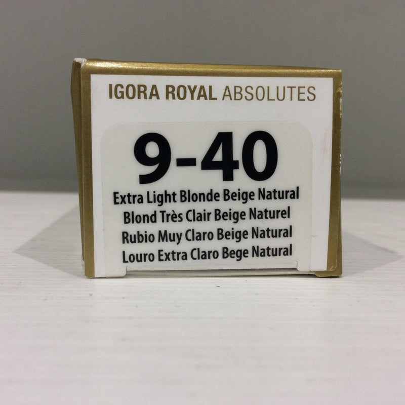 Schwarzkopf Igora Royal Absolutes: 9-40