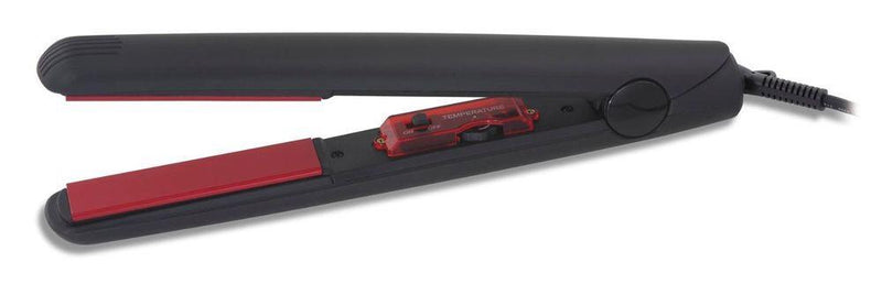 "Pro-Tools Ceramic Straightening Iron 1"" red ceramic plate"