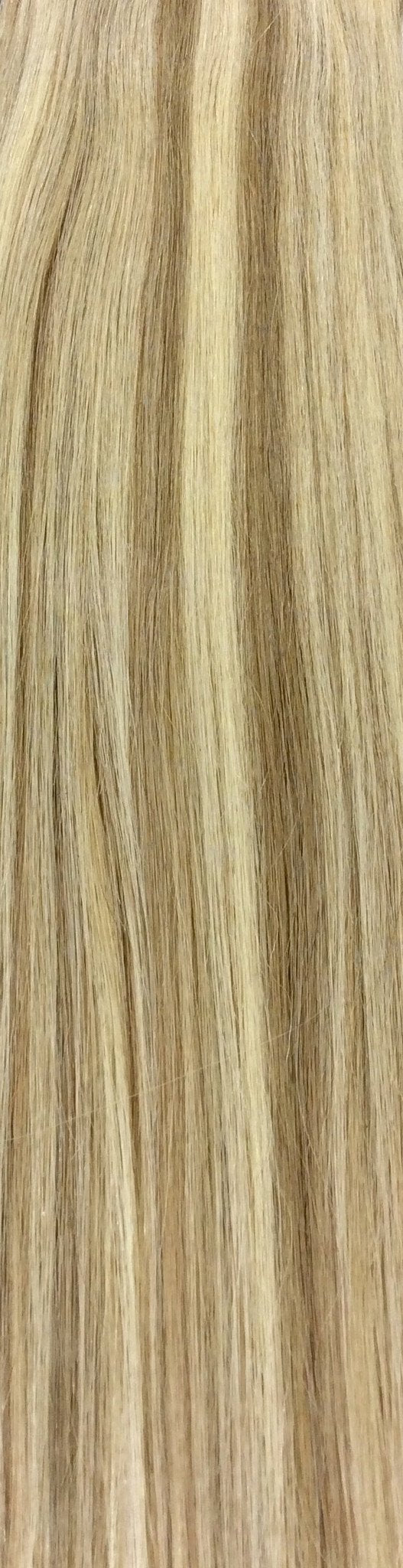 "18"" 100% Human Hair 7pcs Clip-In Color P8/613"