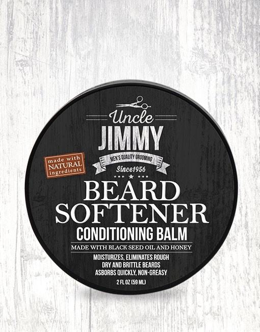 Uncle Jimmy Beard Softener Conditioning Balm 2oz