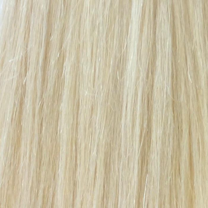 "18"" 100% human hair 9clip-in color 613"
