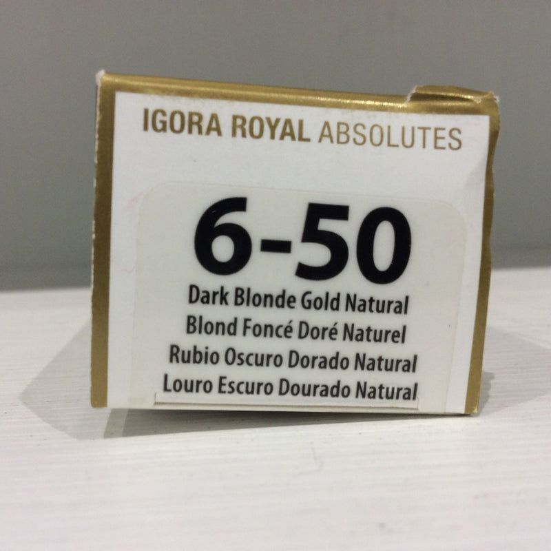 Schwarzkopf Igora Royal Absolutes: 6-50