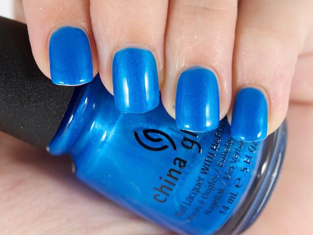 China glaze splish splash