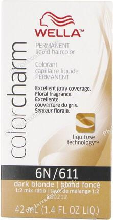 Wella Colorcharm Liquid 6N/611