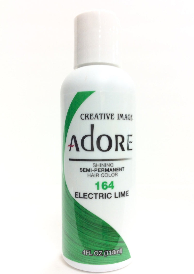 Adore Semi-Permanent Hair Color 164 Electric Lime