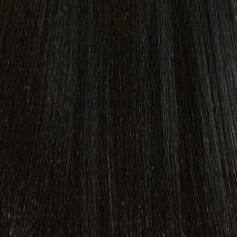 "22"" 100% human hair 9clip-in color 2"