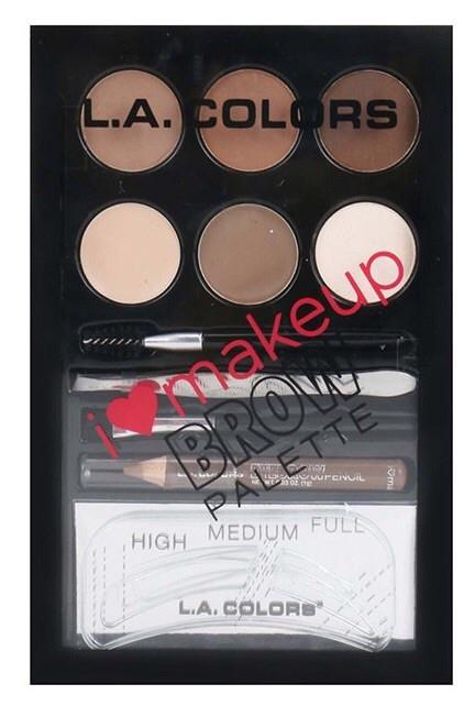 L.A Colors Brow Palette Light to Medium