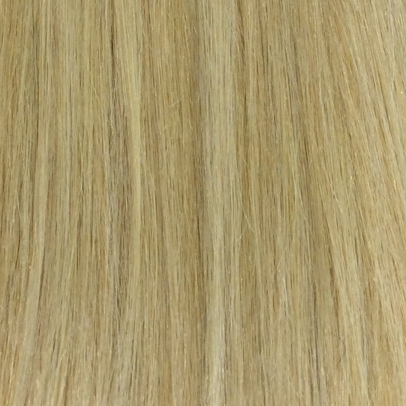"18"" 100% Remy hair square tip color 22"