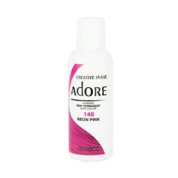 Adore Semi-Permanent Hair Color Neon Pink