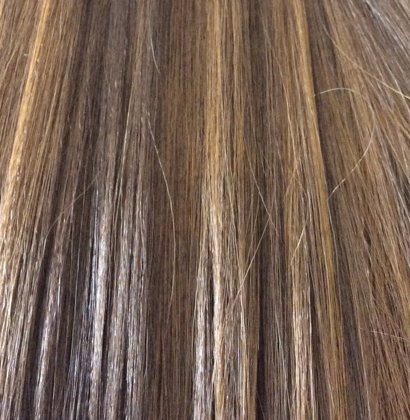 "18"" 100% human hair 9clip-in color P4/30"