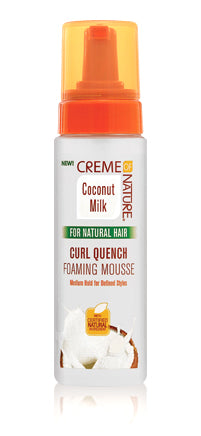 Creme of Nature Curl Quench Foaming Mousse