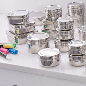 Stainless Steel Lunch Combo Kit (7 containers) - dalcinistainless