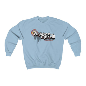 Vintage & Morelli Retro Crew Neck Sweatshirt - Unisex - MY MUSIC MERCH