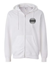 Load image into Gallery viewer, Elliptical Sun Music Split Logo Hoodie - White - MY MUSIC MERCH