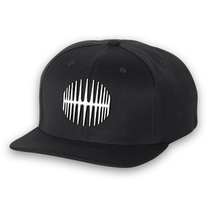 Elliptical Sun Snapback - Black - MY MUSIC MERCH