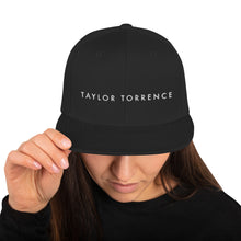 Load image into Gallery viewer, Taylor Torrence Double Sided Snapback - White Logo - MY MUSIC MERCH