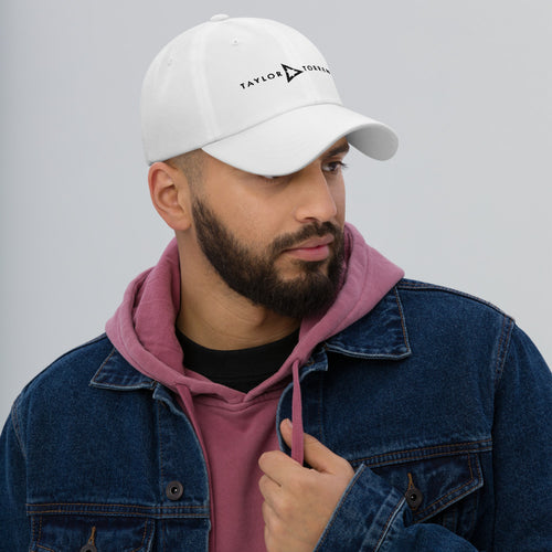 Taylor Torrence Dad Hat - White - MY MUSIC MERCH