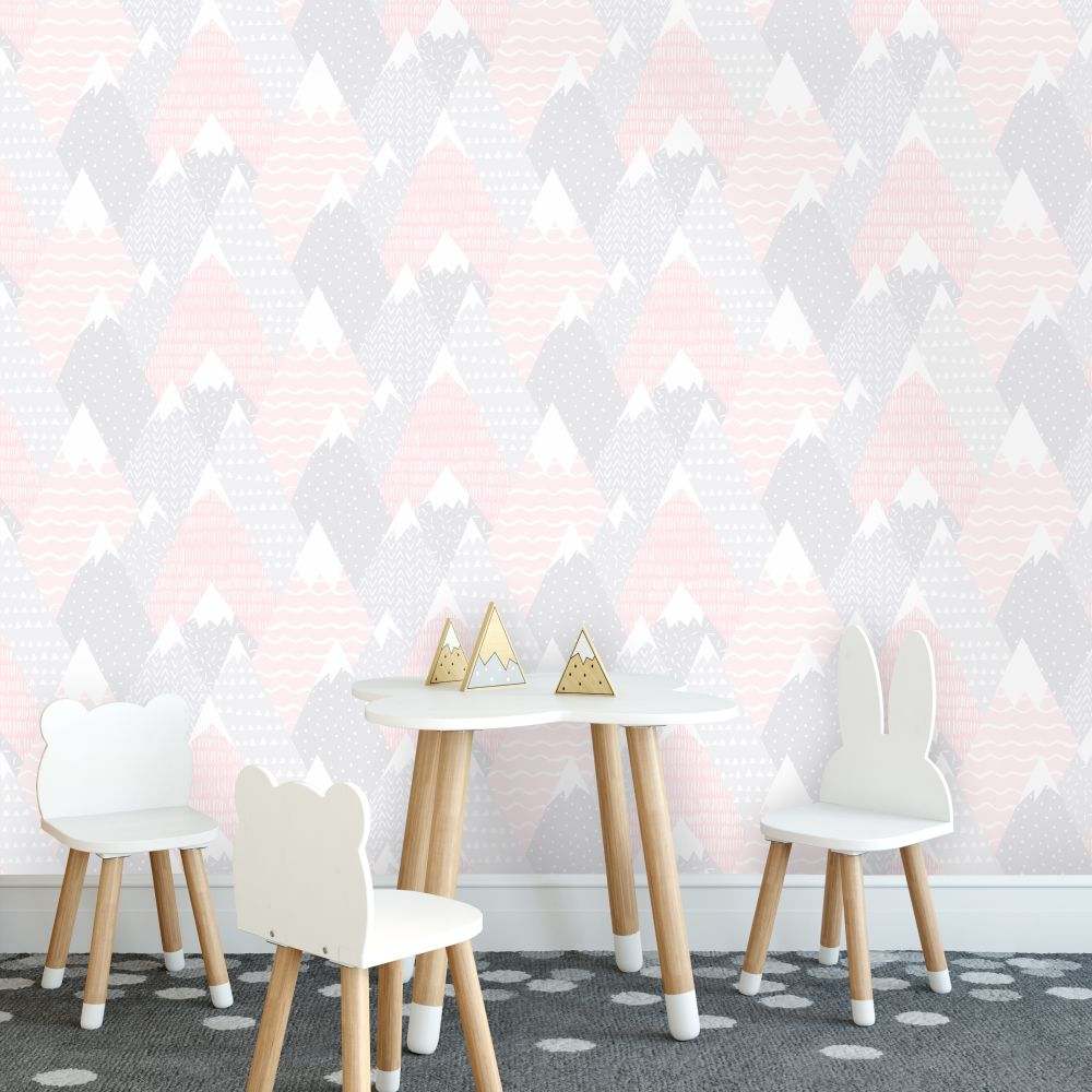 Papier peint Mountains by HD rose -réf: 91051-