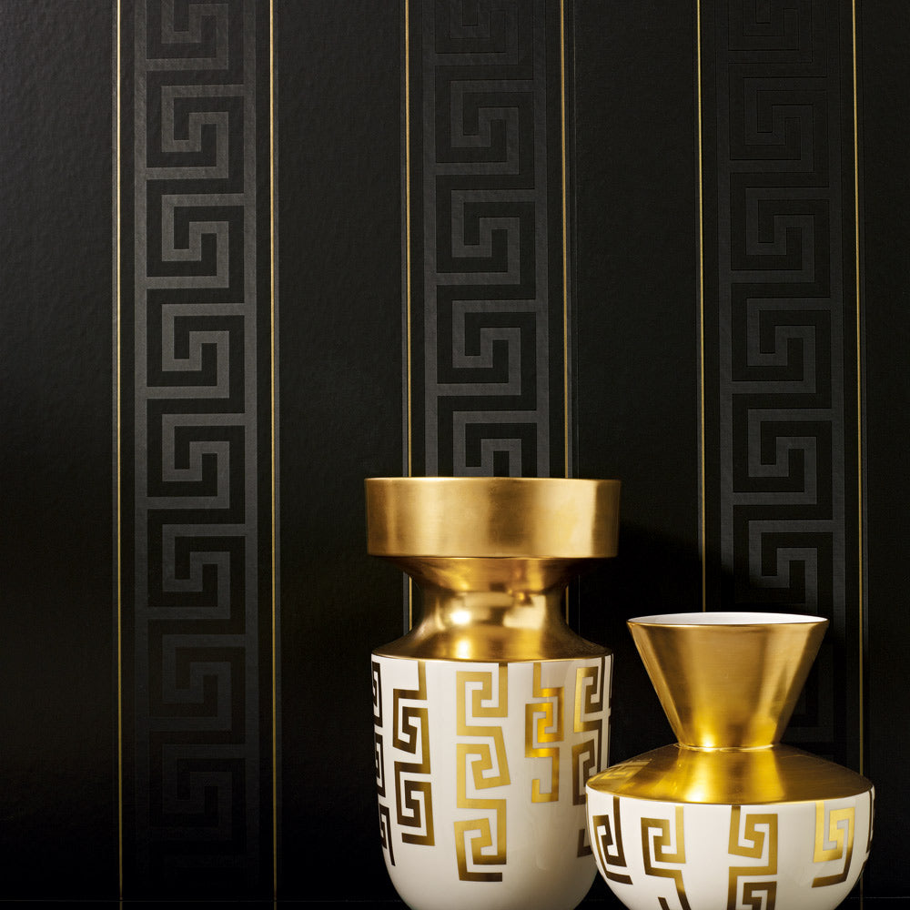 Revêtement mural Greek Stripe by Versace -réf :935244-