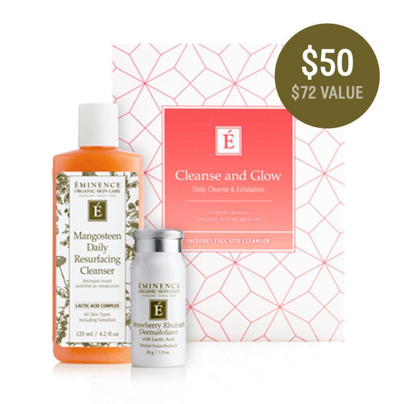 Eminence Organics Cleanse and Glow Gift Set