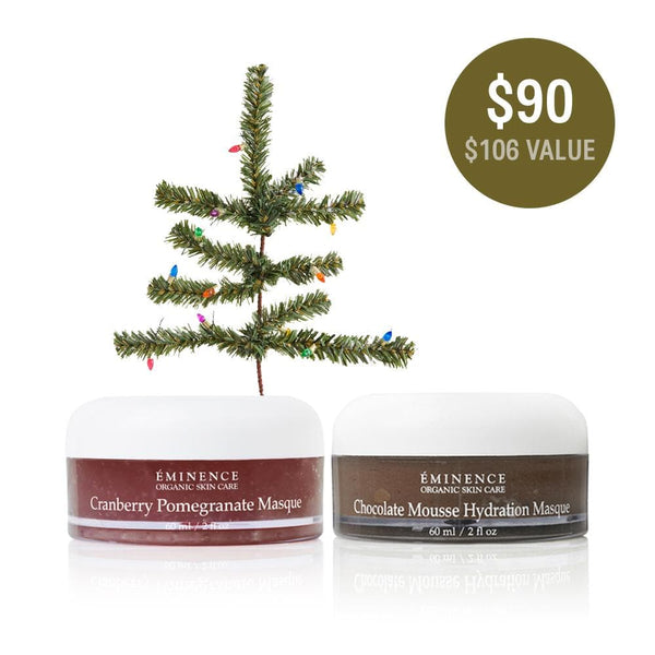 Eminence Organics Cranberry & Chocolate Protection Masque Bundle