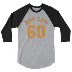 Baseball Jersey with Bay City and the number 60 printed on front
