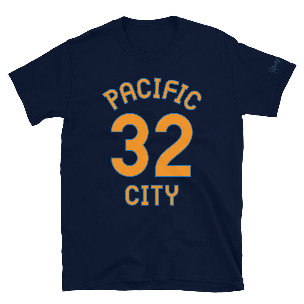 Pacific City, OR - Milepost Jersey, Short-Sleeve Unisex T-Shirt