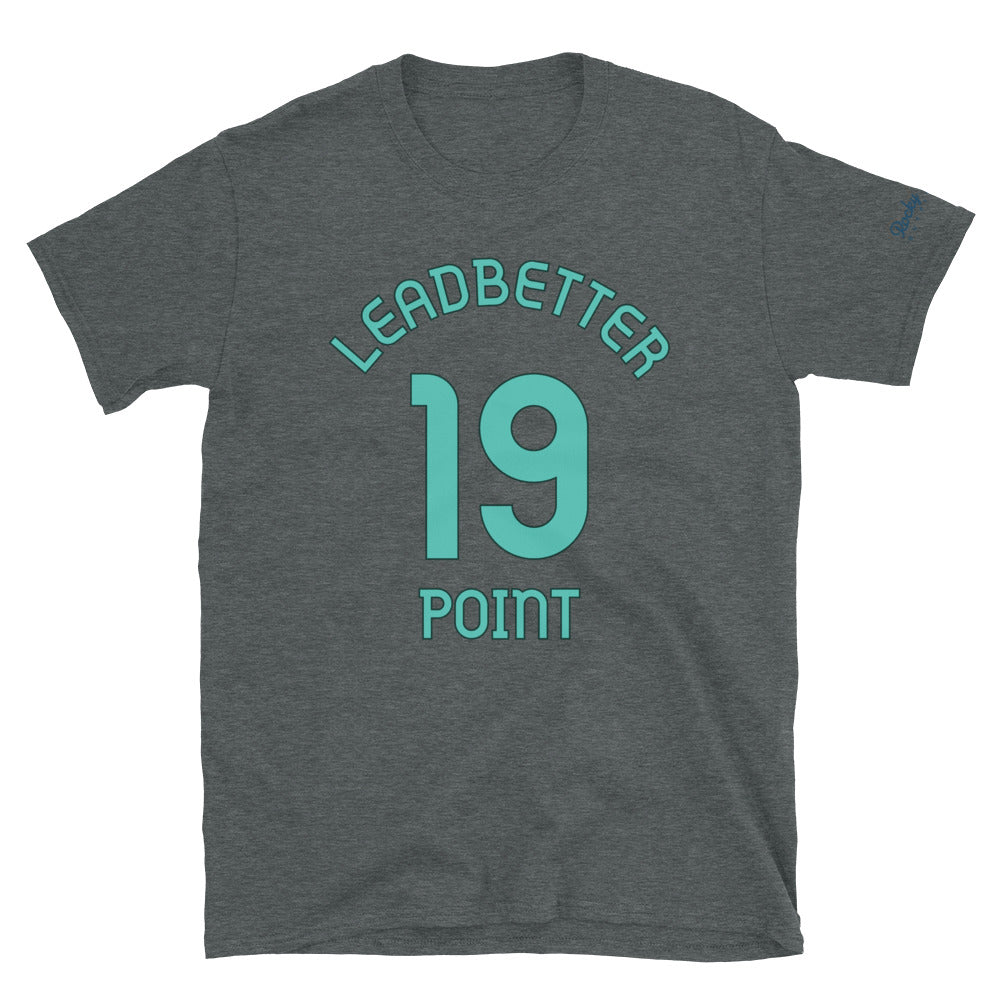 Leadbetter Point, WA - Milepost Jersey, Short-Sleeve Unisex T-Shirt