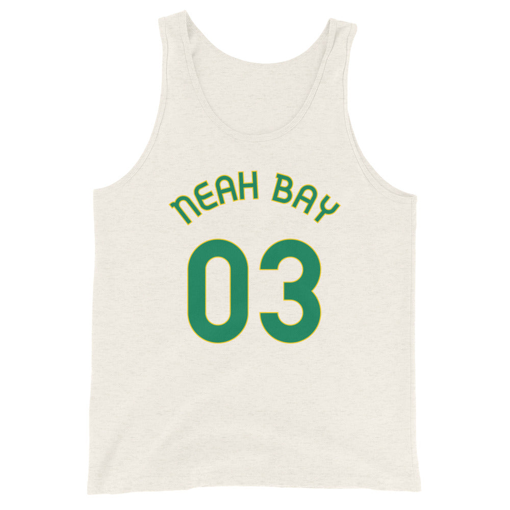 Neah Bay, Washington - Milepost Jersey Tank Top - Unisex