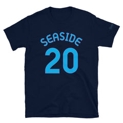 Seaside, OR - Milepost Jersey, Short-Sleeve Unisex T-Shirt