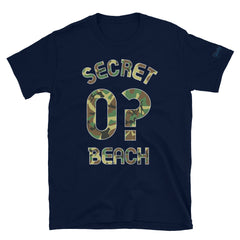 Secret Beach - Milepost Jersey, Short-Sleeve Unisex T-Shirt