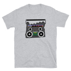 Boom Box Oregon Graphic, Short-Sleeve Unisex T-Shirt