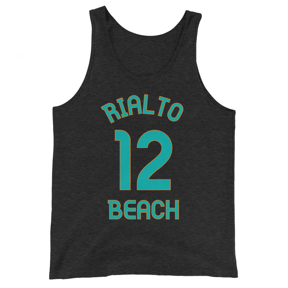 Rialto Beach, Washington - Milepost Jersey Tank Top - Unisex