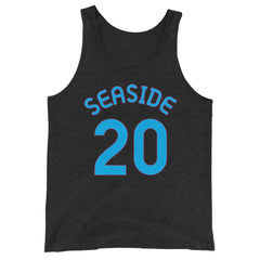 Tank Top with Seaside and 20 printed on the front