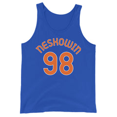 Tank Top with Neskowin and 98 printed on the front