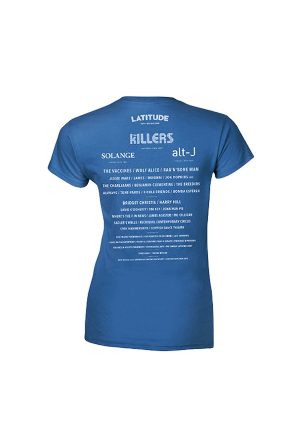 2018 Blue Event Ladies T-Shirt