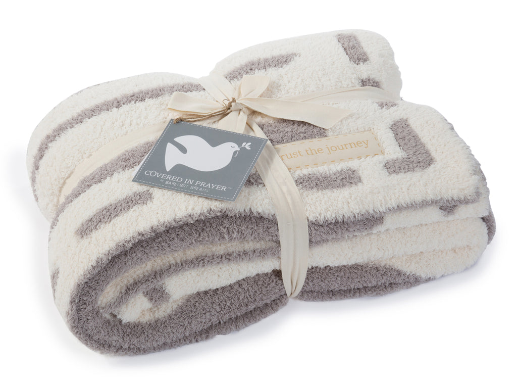 Barefoot Dreams the CozyChic Covered In Prayer Throw