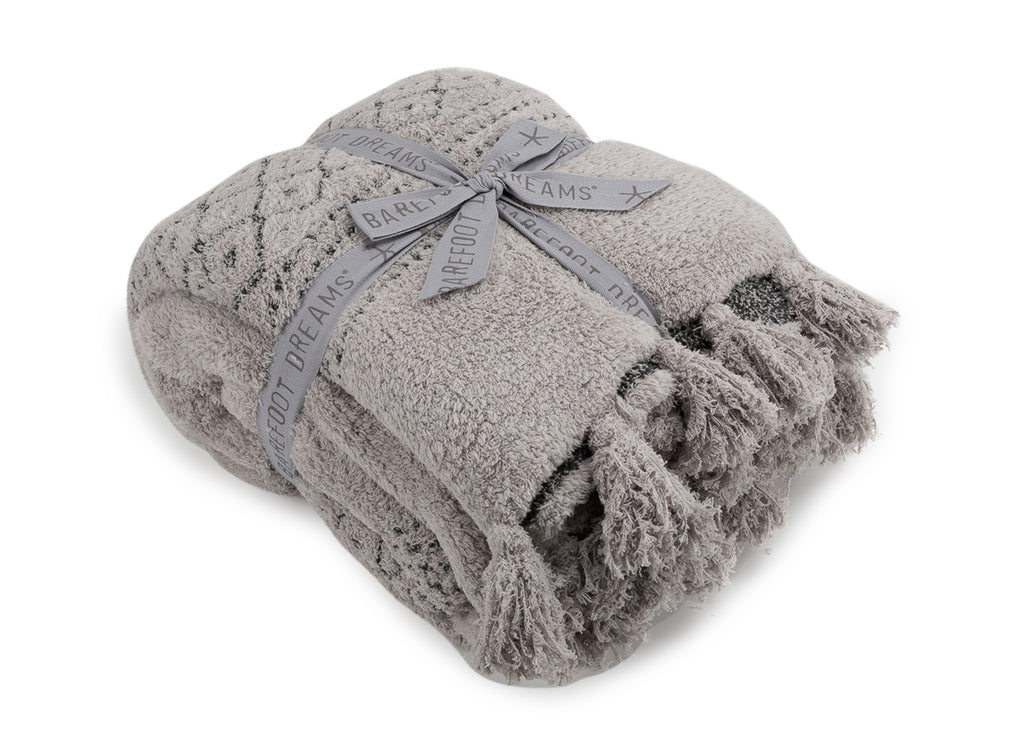 Barefoot Dreams the CozyChic Luxe Casa Throw Blanket