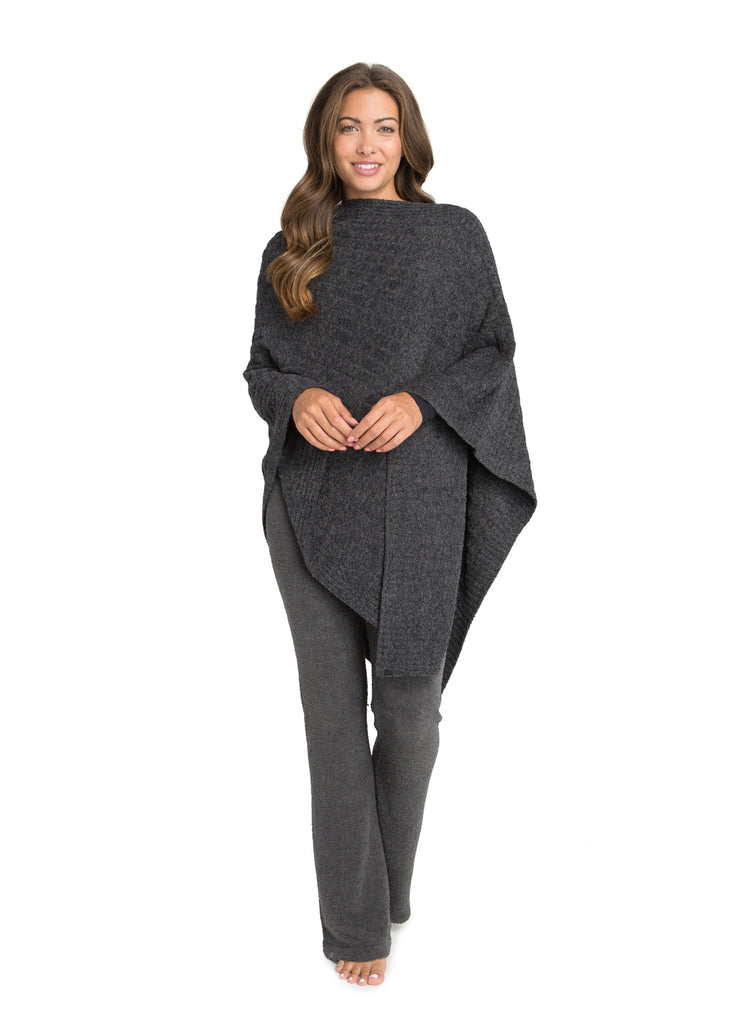 Copy of Barefoot Dreams the Cozychic Lite® Cable Poncho