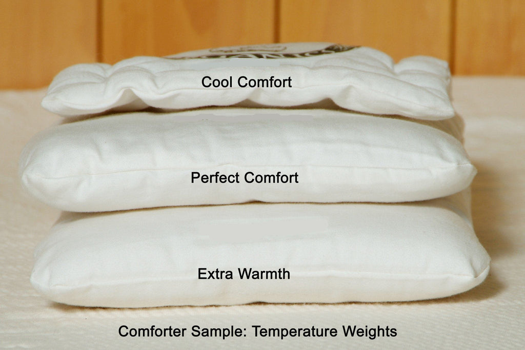 Holy Lamb Organics Comforter with Dual-Weight