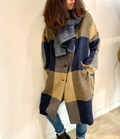 Pomandere Manteau 6142 Carreaux