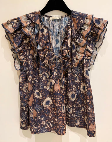 Ulla Johnson Blouse GRETA Terra