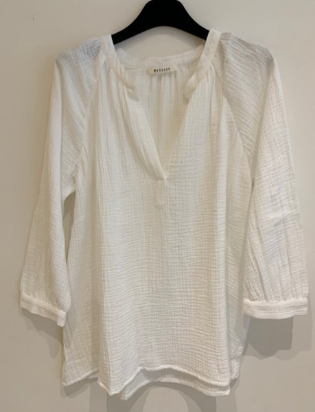 Masscob Blouse MILO Blanc